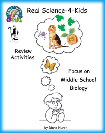Real Science-4-Kids Biology Review Activities