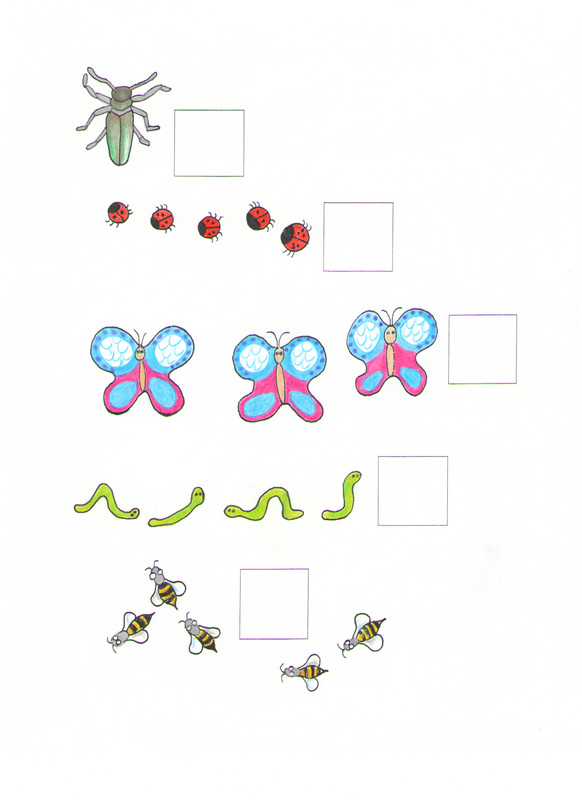 counting cards: insects