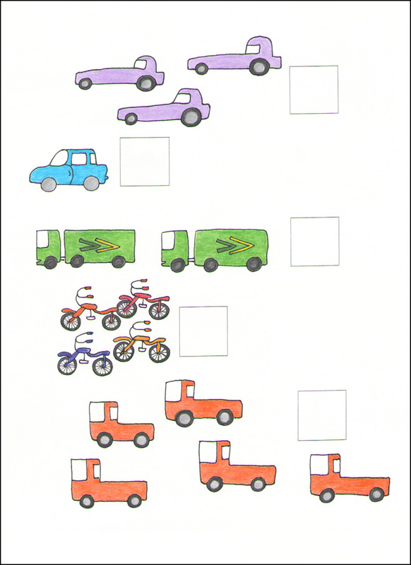 Counting Cards example page -- vehicles